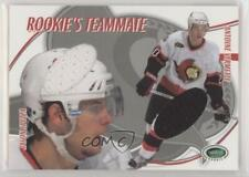 2003 In the Game Parkhurst Rookie RT-8 Jason Spezza Antoine Vermette Hockey Card