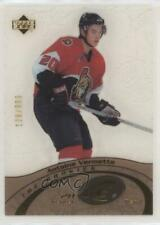 2003-04 Upper Deck Ice #97 Antoine Vermette Ottawa Senators Rookie Hockey Card