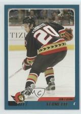 2003-04 Topps Traded #TT131 Antoine Vermette Ottawa Senators Rookie Hockey Card