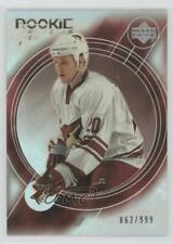 2003 Upper Deck Trilogy #185 Fredrik Sjostrom Phoenix Coyotes Rookie Hockey Card