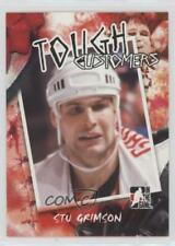 2005 In the Game Enforcers Tough Customers #TC-SG Stu Grimson Detroit Red Wings