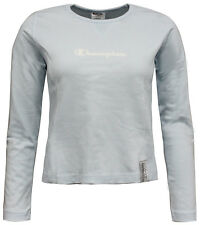 Champion Athletic Apparel Womens Pullover Top Jumper Blue 102014 2408 RW5