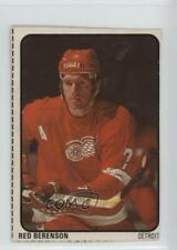 1974-75 Lipton Soup Food Issue Base #25 Red Berenson Detroit Wings Hockey Card