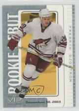 2003-04 In the Game VIP Rookie Debut #70 Fredrik Sjostrom Phoenix Coyotes Card