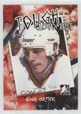 2005 In the Game Enforcers Tough Customers #TC-GO Gino Odjick Vancouver Canucks