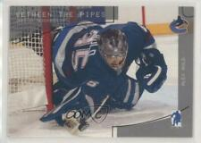 2003-04 In the Game Be A Player Memorabilia 101 Alex Auld Vancouver Canucks Card