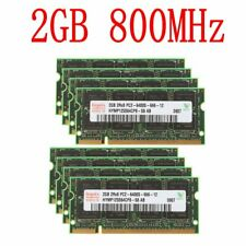 16GB 8x2GB / 1GB PC2-6400S DDR2-800MHz 200Pin SODIMM Laptop RAM Para Hynix SP