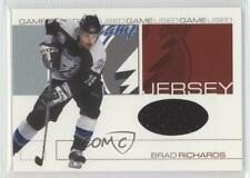 2001-02 In the Game Be A Player Signature Series GJ-60 Brad Richards Hockey Card