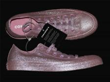 Rare Converse Rosy Pink Completely Covered Glitter Ox Low Shoes WMS NWT HTF