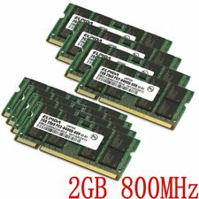 16GB 8GB 2GB 4GB 1GB PC2-6400 DDR2-800 SO-DIMM 200PIN Laptop RAM Para ELPIDA SP
