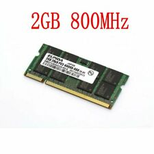 Para ELPIDA 2GB 1GB PC2-6400 DDR2 800Mhz 200Pin SODIMM Laptop RAM Notebook SP