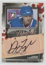 2013-14 In the Game Enforcers II Autographs A-DL Darren Langdon Auto Hockey Card