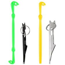 Fly Fishing Line Knot Tool Loop Knot Tying Tool Fishing Hook Tier Remover  D5V8)