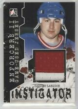 2013 In the Game Enforcers II #IM-11 Darren Langdon New York Rangers Hockey Card