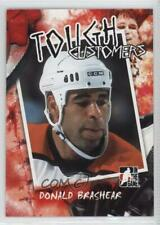 2005-06 In the Game Enforcers Tough Customers #TC-DB Donald Brashear Hockey Card
