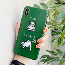 Cartoon Funny Pet Dog Soft IMD Phone case for iphone XS MAX XR X 8 7 6s 6 plus