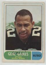 1968 O-Pee-Chee CFL #21 Gene Gaines Ottawa Rough Riders (CFL) Football Card