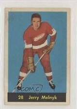 1960-61 Parkhurst #28 Jerry Melnyk Detroit Red Wings RC Rookie Hockey Card