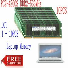 2GB 4GB 8GB 16GB DDR2-533Mhz PC2-4200S 200Pin Memoria RAM Para Samsung Laptop SP