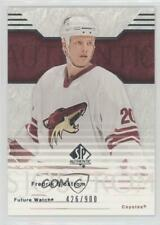 2003-04 SP Authentic #116 Fredrik Sjostrom Phoenix Coyotes RC Rookie Hockey Card