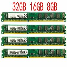 Memoria 32GB 16GB 8GB PC3-12800 DDR3 1600 Intel CPU Para Kingston Dual Channl SP
