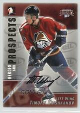 2004-05 In the Game Heroes and Prospects Autographs A-TS Timofei Shishkanov Auto
