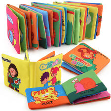 Intelligence Cloth Book Development Bed Cognize Educational Toy for Kids Baby
