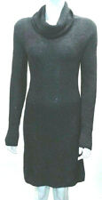Hugo Boss Womens Jumper Midi Dress Chunky Knit Cowl Neck Long Sweater Used