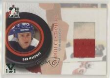 2005-06 In the Game Tough Customers #GUJ-DM Dan Maloney Detroit Red Wings Card