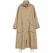 Long Coat Fashion Ladies Spring Autumn Winter Women Loose Overcoat Hooded Trench