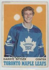 1970-71 O-Pee-Chee #218 Darryl Sittler Toronto Maple Leafs RC Rookie Hockey Card