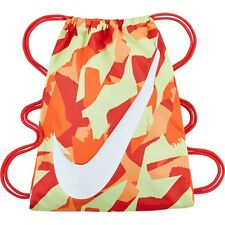 227ee4609f Nike YA School Gym Sack Gym Sac Kids Shoulder Drawstring Bag -Yellow Orange