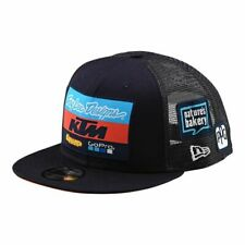 887802784bf Official Troy Lee Designs 2019 Team KTM Adidas New Era Snap Back Cap - Navy