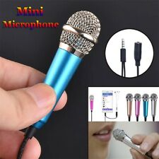 Mini Microphone 3.5mm Wired Condenser Karaoke For Computer Android Smartphones