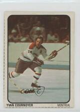 1974-75 Lipton Soup Food Issue Base #13 Yvan Cournoyer Montreal Canadiens Card