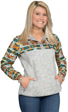 Simply Southern Women's Knit Pullover in Grey Bear Print Size L, XL, XXL NWT
