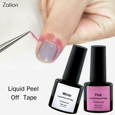 ZationPink White Nail Care Cream Peel Off Liquid Tape Skin Protection Gel Defend