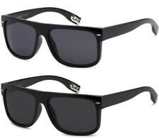 a9730cc1c16 DESIGNER FLAT TOP SUNGLASSES SQUARE CLASSIC LOCS HIP HOP GANGSTA MENS LADIES