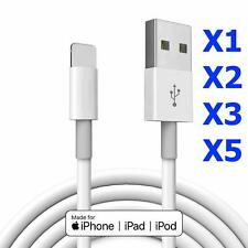 CABLE USB RENFORCE CHARGEUR RECHARGE SYNC iPhone 5-5S-6-6S-7-7Plus-iPad