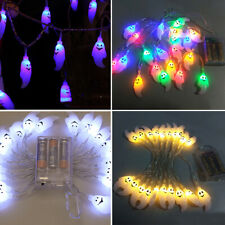 10/20/40 LED Ghost String Lights For Halloween Party Decor String Light Surprise