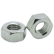 HEXAGON FULL NUTS A4 MARINE STAINLESS STEEL M1.6 M2 M2.5 M3 M4 M5 M6 M8 M10 M12