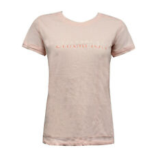 Champion Authentic Womens T-Shirt Short Sleeve Casual Top Pink 106243 3147 P3