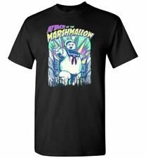 Attack of the Marshmallow Stay Puft Man Mens Kids T-Shirt Ghostbusters Humor