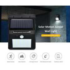 Waterproof 20 LED Solar Power PIR Motion Sensor Wall Light Outdoor Garden Lamp