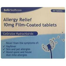 Bells Healthcare Allergy Relief 10mg Film-Coated Tablets -  30 Tablets