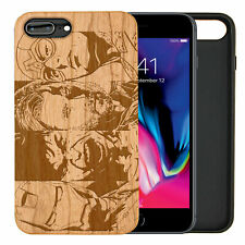 Avengers Natural Carved Wooden Phone Case for IPHONE SAMSUNG HUAWEI PIXEL