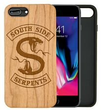 Southside Serpants Natural Carved Wooden Phone Case IPHONE SAMSUNG HUAWEI PIXEL