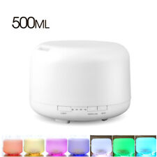 500ml Aroma Essential Oil Diffuser Ultrasonic Air Humidifier 7 Color Change LED