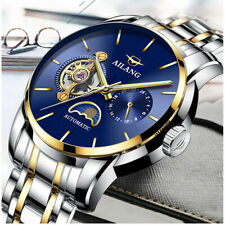 Brand NEW 21 JEWELS AILANG MEN'S Self-Winding Automatic Wrist Moon Phase Watch