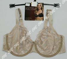 M/&S LUXURY EMBROIDERED UNDERWIRED FULL CUP BRA NON PADDED BNWT ALMOND SIZE 38C
